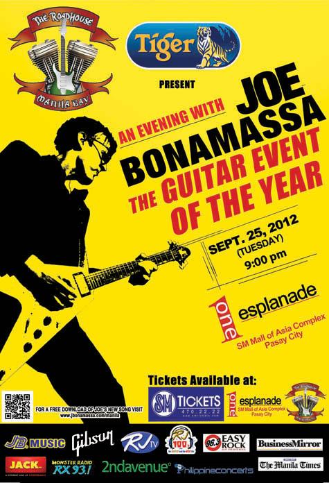 An Evening with Joe Bonamassa
