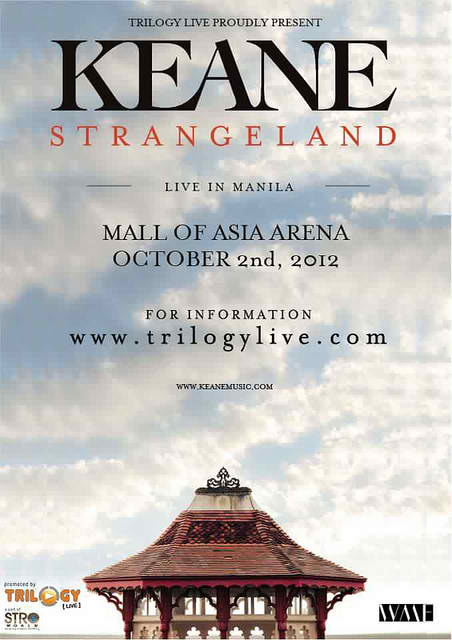 Keane live in Manila
