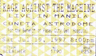 Rage Against The Machine Live in Manila 1997