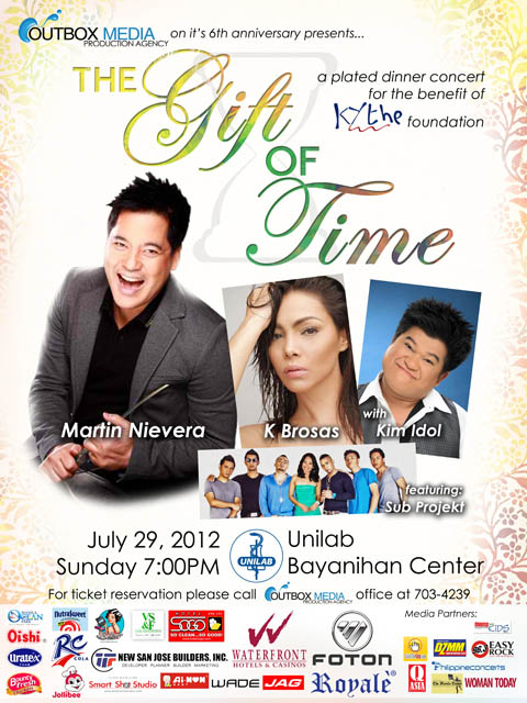 The Gift of Time Dinner Concert