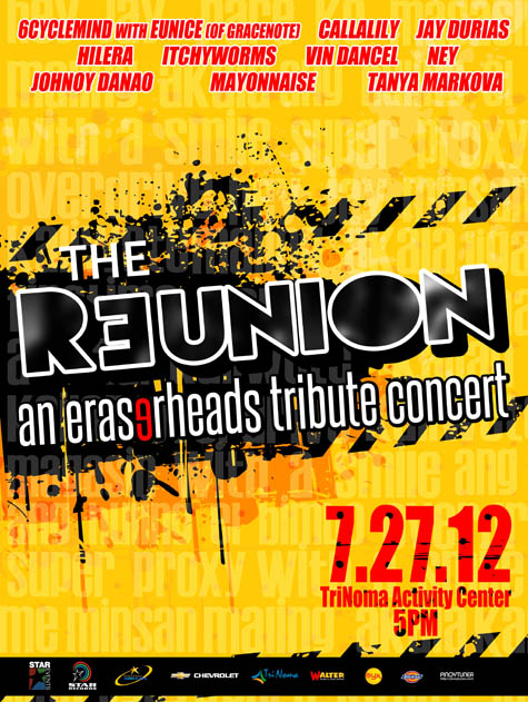 The Reunion An Eraserheads Tribute Concert