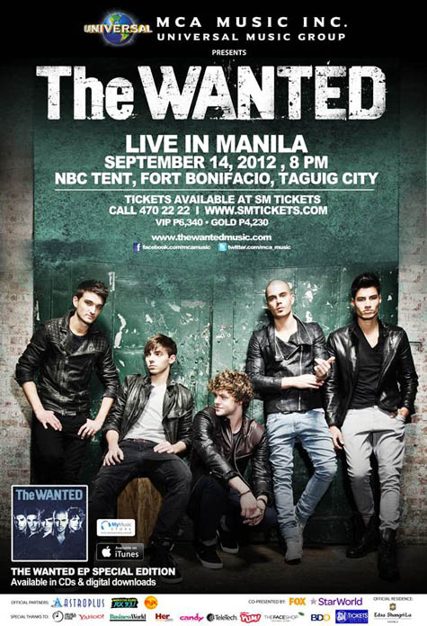 The Wanted live in Manila