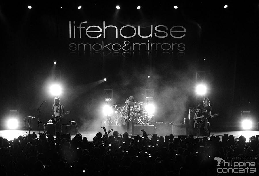 Lifehouse Live in Manila Photos