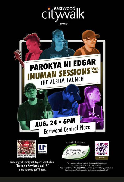 Parokya ni Edgar Inuman Sessions Vol. 2 Album Launch