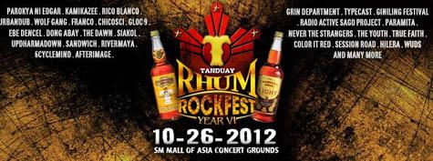 Tanduay Rhum Rockfest 2012