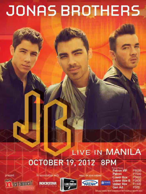 Jonas Brothers Live in Manila and Cebu