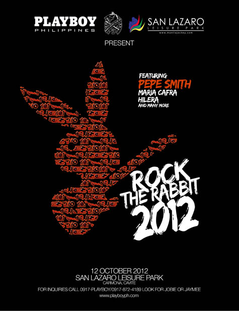 Playboy Rock the Rabbit 2012