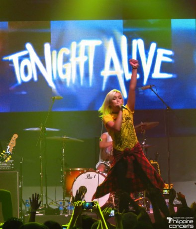 Jenna McDougall of Tonight Alive