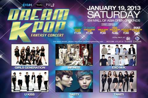 Dream Kpop Fantasy Concert 2013