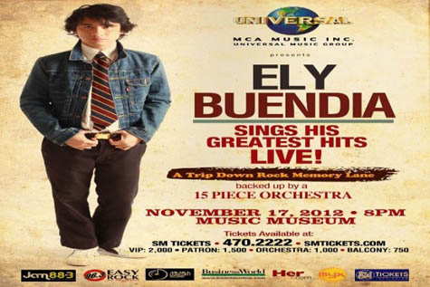 Ely Buendia Sings His Greatest Hits Live