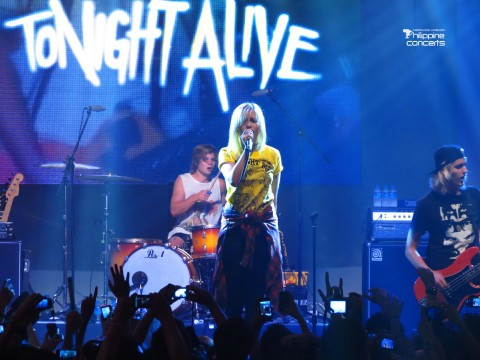Tonight Alive SM Skydome