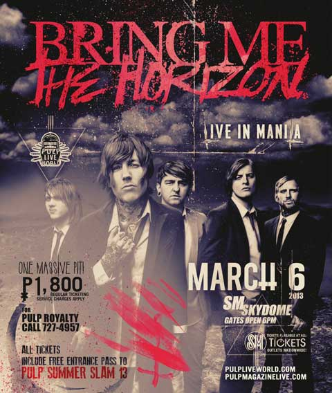Bring Me The Horizon live in Manila