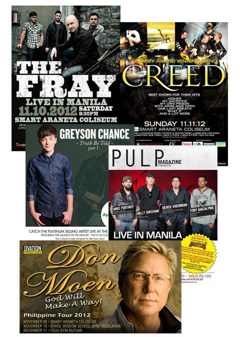Concert Week: November 6 to 11