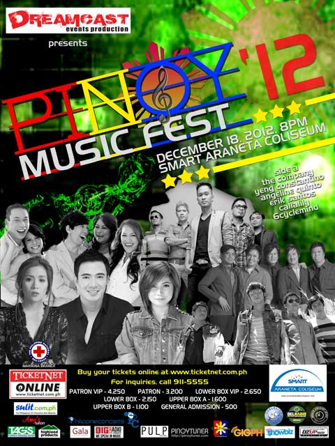 Pinoy Music Fest 2012
