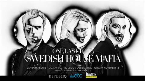 Swedish House Mafia live in Manila