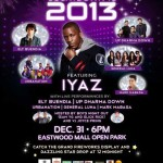 Eastwood New Year Countdown with Iyaz