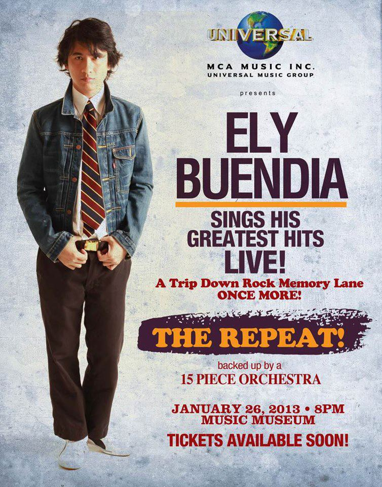 Ely Buendia Sings His Greatest Hits! THE REPEAT