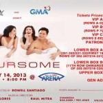Foursome Martin, Pops, Ogie and Regine Valentines Concert