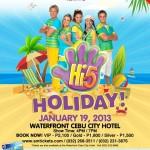 Hi-5 Holiday Live in Cebu 2013