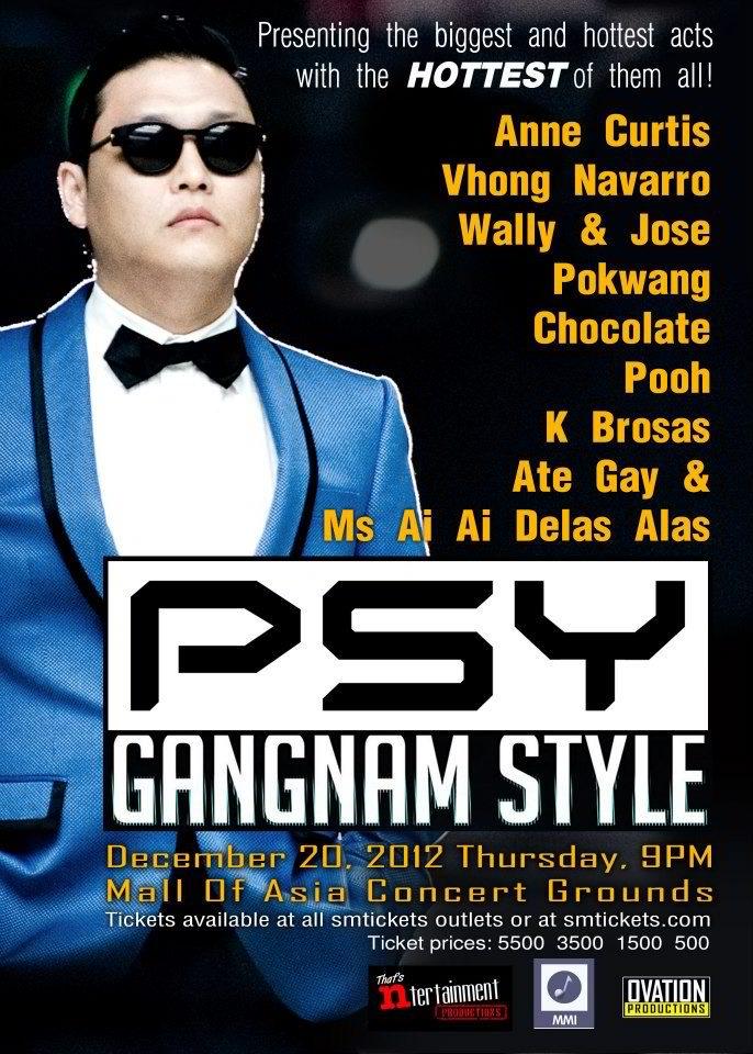 Psy live in Manila