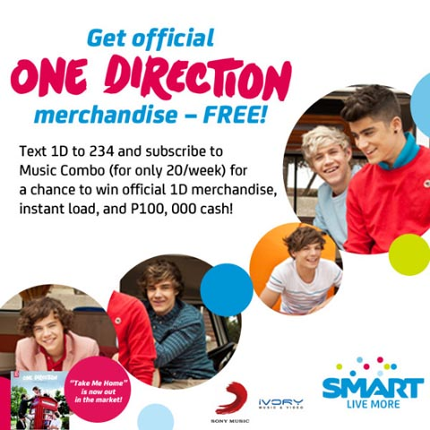 one direction merchandise - Philippine Concerts