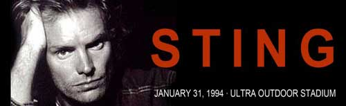 Sting Live in Manila 1994