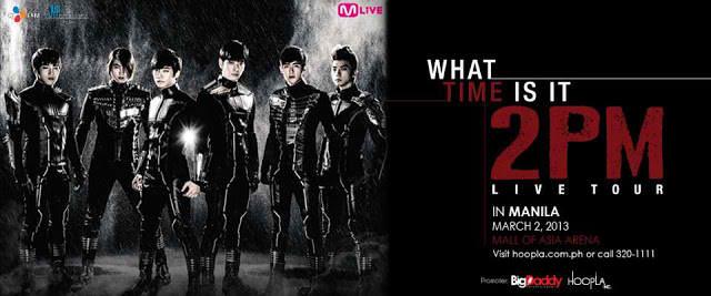 2pm live in manila poster