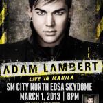 Adam Lambert Live in Manila 2013