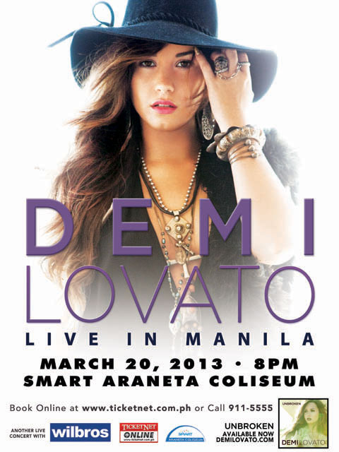 Win Tickets to Watch Demi Lovato Live in Manila