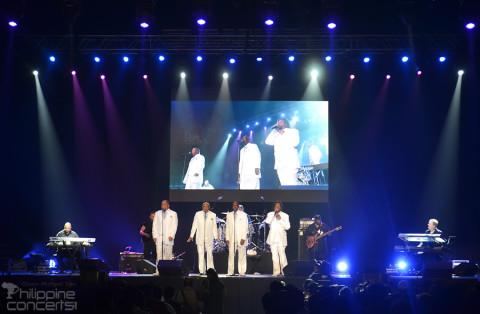 The Stylistics at Smart Araneta Coliseum