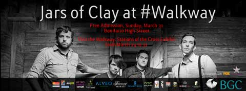 Jars of Clay Live at Walkway BGC