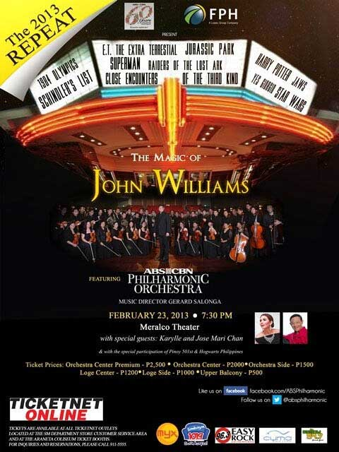 The Magic of John Williams featuring the ABS-CBN Philharmonic Orchestra