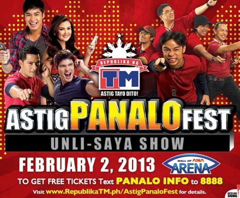 Saya Show on Saturday, February 2, 2013 at the Mall of Asia Arena