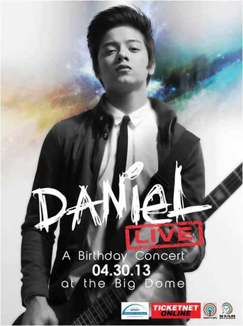 Daniel Padilla live at the Big Dome