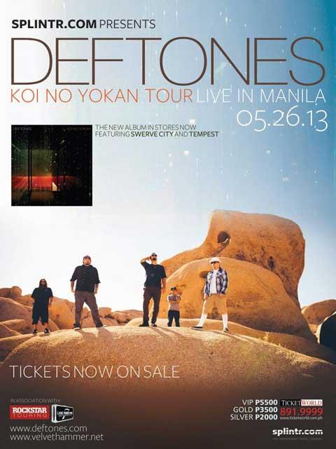 Deftones Live in Manila 2013