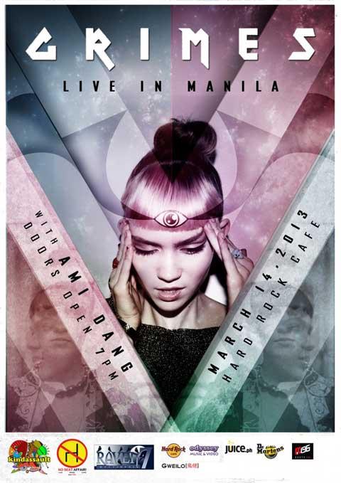 Grimes Live in Manila