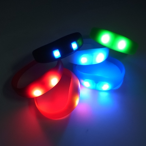 Win 3 Motion Sensor LED Wristbands
