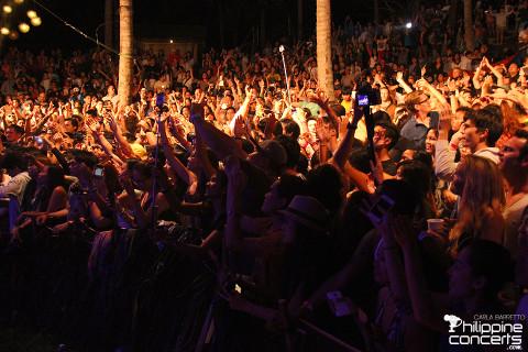 Malasimbo Festival Crowd