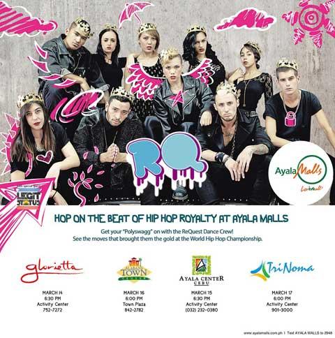 ReQuest Dance Crew Live at Ayala Malls