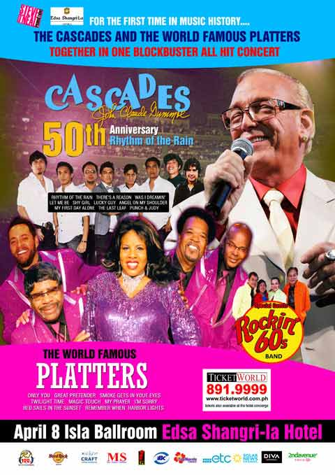The Cascades and The World Famous Platters Live in Manila