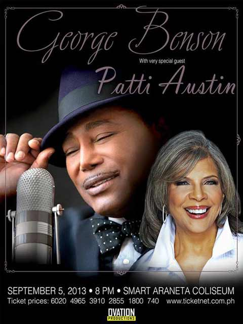George Benson with Patti Austin Live in Manila
