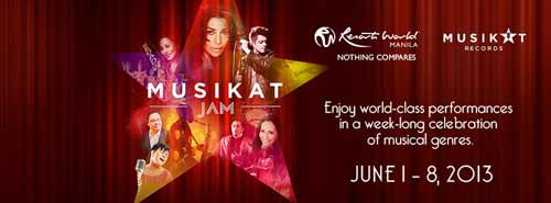 Musikat Jam at Resorts World Manila