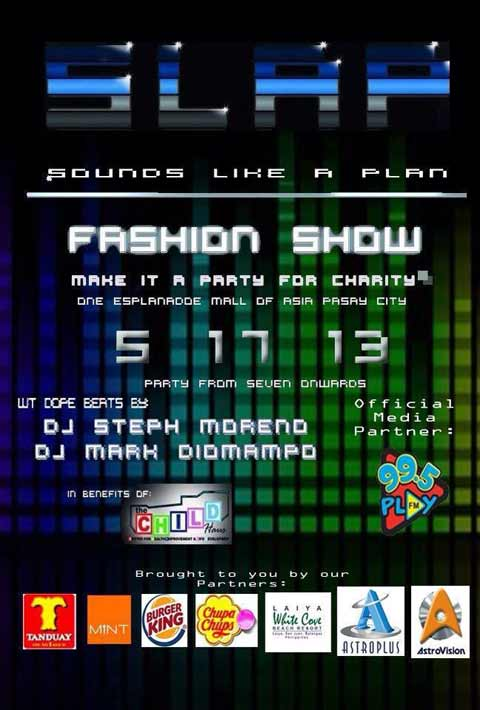 SLAP: Sounds Like A Plan Fashion Show Party