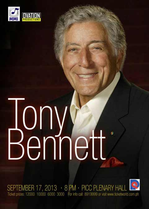 Tony Bennett live in Manila | Philippine Concerts