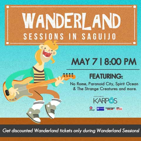 Wanderland Sessions in Saguijo