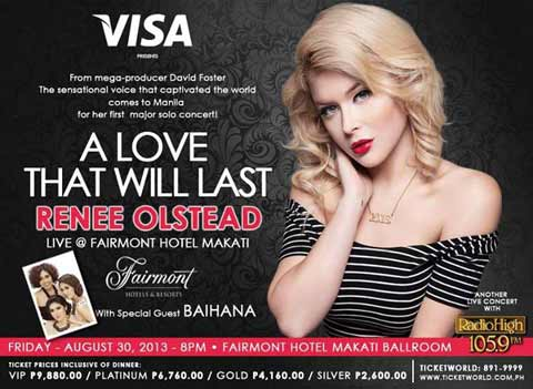 Renee Olstead Live in Manila 2013
