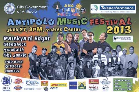 Antipolo Music Festival 2013