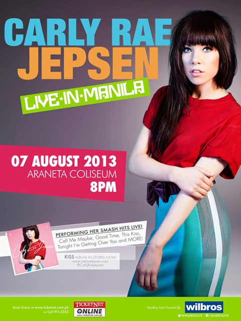 Carly Rae Jepsen Live in Manila