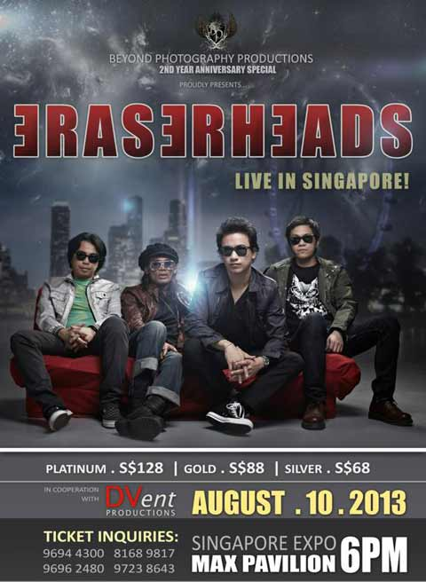Eraserheads Live in Singapore