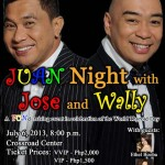 Juan Night with Jose and Wally